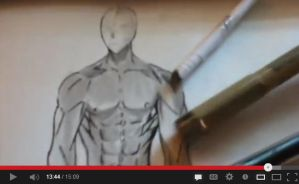 How to draw male body. (step by step) by ni98