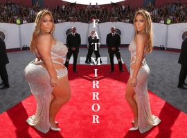 jennifer lopez fat mirror wg by xelavi0