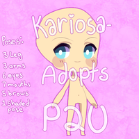 P2U with Extras by Kariosa-Adopts