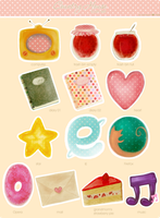 Country House Icon Set by himacchi