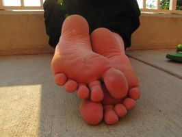 Lense flare and bare soles by WhatArtCanBe11288