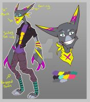 Neon Punk!! (Point Auction) CLOSED by Lone--Dragon