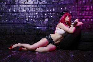 Poison cosplay Street FighterxTEKKEN (Final Fight) by Jane-Po