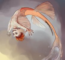 Monster Challenge - Mermaid by Ravna-Resta