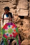 Kite Seller by SantiBilly