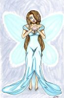 Blue fairy by xSerenityLove