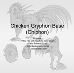 Chicken Gryphon Base (Chiphon) by Xeshaire