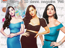 Katy Perry 3 IO donna Magazine PNG by MaritzaTrigo