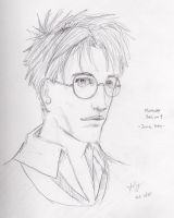 Marauders realism - james by silverwing24