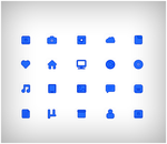 Blue Icons by cu88