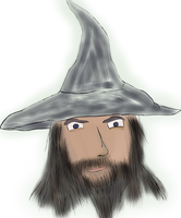 Gandalf the Gray by Valenmere