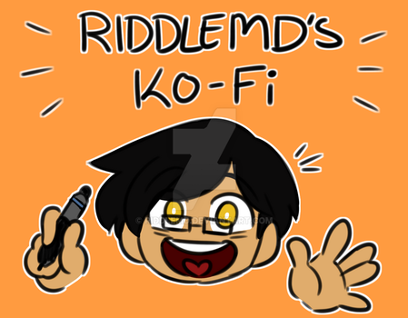 Support Me Through Ko-Fi by RiddleMD
