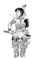 Inktober2 by chengxiangarts