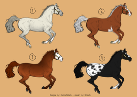 Natural Horse Designs (CLOSED) by WhiteStagRanch
