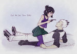 DoaS: Let Me See Your Eyes by DreamaDove93
