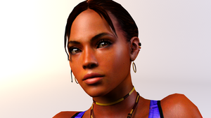 3DS Max - Sheva Alomar by SilverMoonCrystal