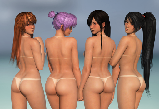 DOA HDM Babes by RadiantEld