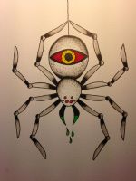 The spider in the corner sees all by BeyondEdge