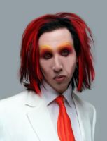 Marilyn Manson by TindieWomp