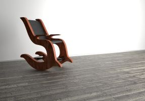 Extraordinary rocking chair by SirBamboo