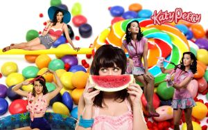 Wallpaper - Katy Perry by DarinaBerry