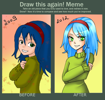 Draw this again meme by SashaVasileva