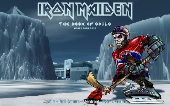 Iron Maiden-TBOS world tour 2016-Montreal-Canada by croatian-crusader