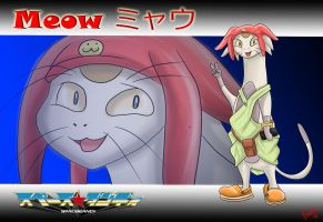 Meow - Space Dandy by The-B-Meister