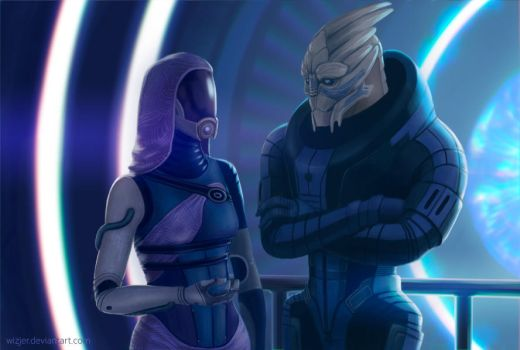 Chit chat || Andromeda Series Commision # 8 by wizjer