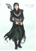 Loki guess work by Alebireo