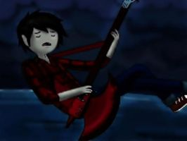 Marshall Lee, The Vampire King by ManchitaAnaru