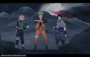 Naruto 632 (Team 7) by alxnarutoall
