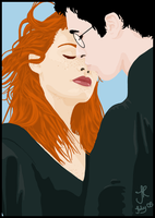 Harry and Ginny by Sephycat