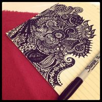 sharpie doodle. by nallina