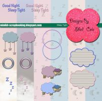 Sleep Tight - Scrapbook Kit by shelldevil