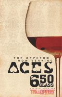 Aces Wine by SCREWLOOSEDESIGN