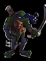 Teenage Mutant Ninja Turtle Leo by DaveTheSodaGuy