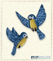 Blue Swallows by indians