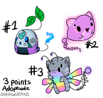 3 Points Adoptables(closed) by PrePAWSterous