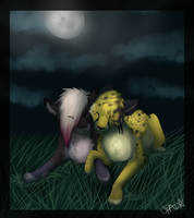 .:Gift:.  Here with you by opaleyedwolf