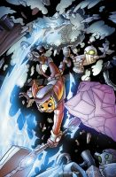 Ratchet and Clank issue 5 by a-archer