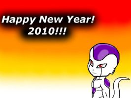 NEW YEAR 2010 FREEZA by CrimsonViolet