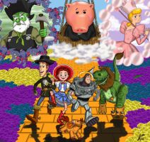 Wizard of Oz Toy Story Style by ScruffyToto