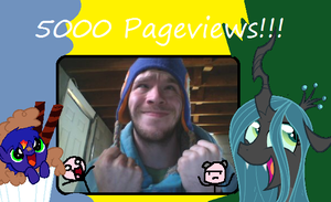 5000 Pageviews, Wooo~~ by Stickman16