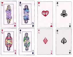 Finarfinian Cards: Spouses and Aces by Gwenniel