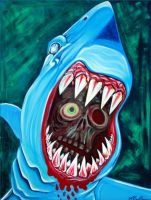 Great White Gobstopper by barbosaart