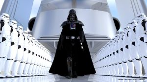 Darth Vader Arrives by ArtFunart4fun