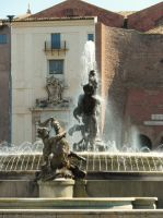 Rome - Fountain by PhilsPictures