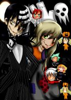 The Nightmare Before SoulEater by Del-Hee-Cious