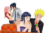 Sasusaku Naruhina I melt for love by MikotoSakura